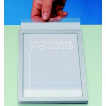 Poster protectors (light gauge)