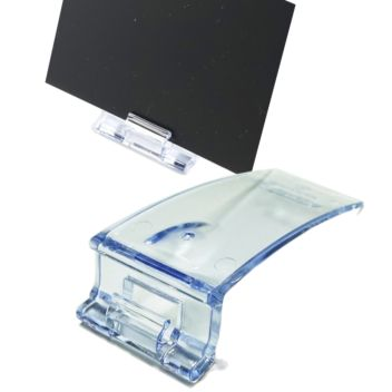 Premium food counter card holders