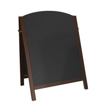 Premium wood chalkboard A-board