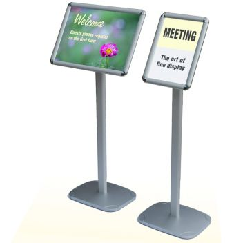 Sign display floor stand
