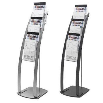 Prestige floor standing magazine display