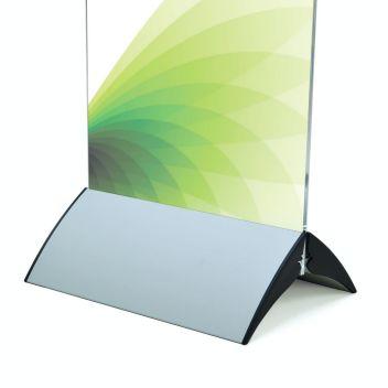 Pressto display panel base - Silver