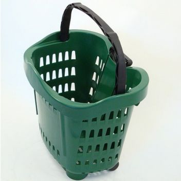 Roller shopping Basket