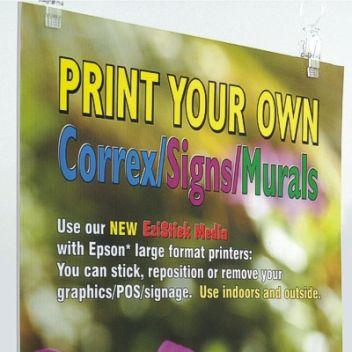 "Self adhesive - Printable outdoor 24"""