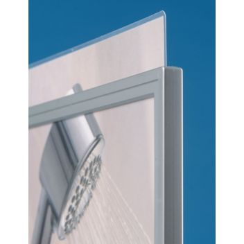 Silver painted plastic frames - Silverline