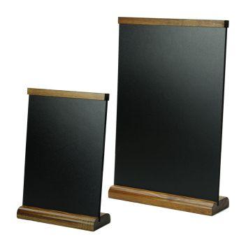 Slanted chalkboard menuboard