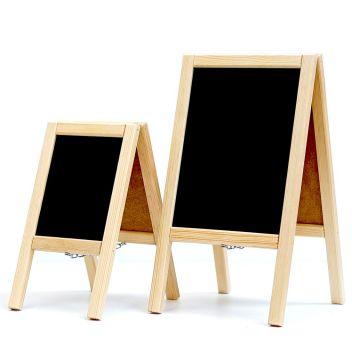 Table top mini blackboard A-board