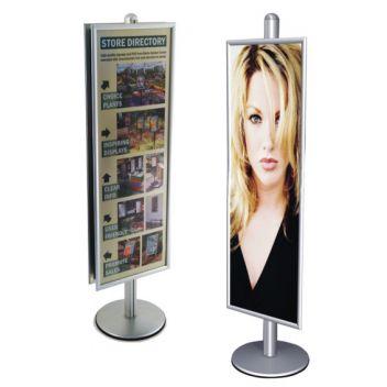 Tall poster frame for InfoColumn