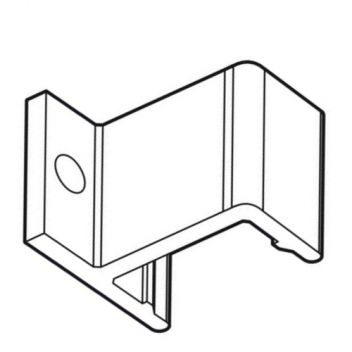 Wall fixing clip for Woodline and Aluminium profile frames