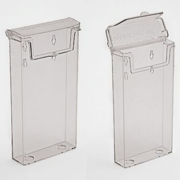 Weatherproof brochure dispensers