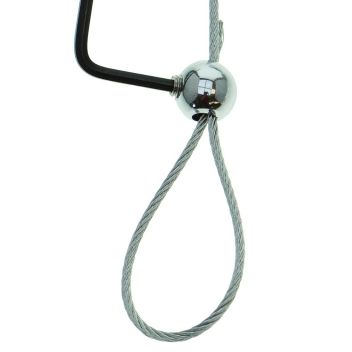 Wire rope loop clamp