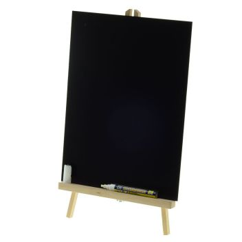 Small Wooden Easel Stands For Tabletop Display Of Blackboards Or