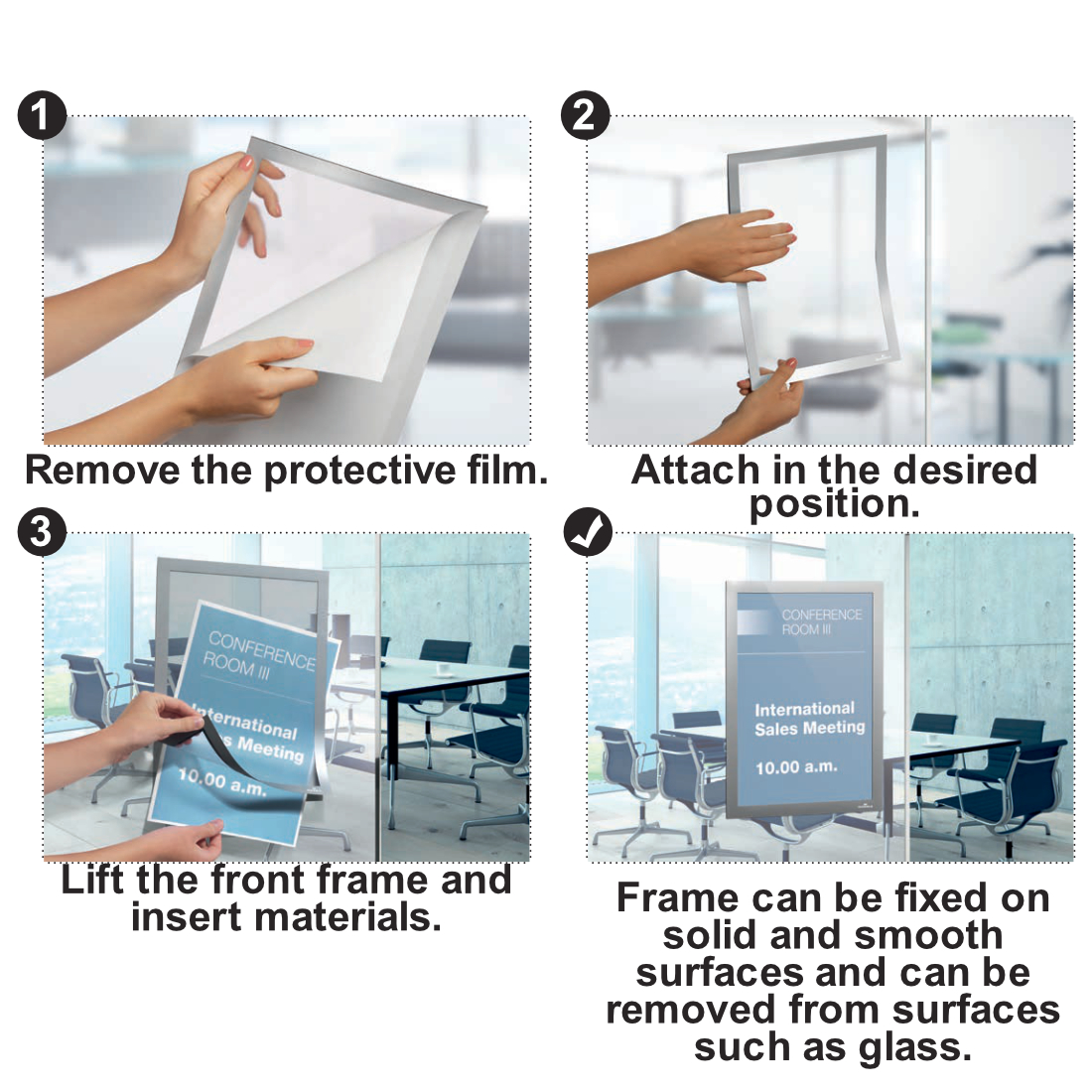 Duraframe Instructions