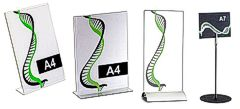 Table sign holders category