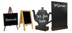 Table chalkboards category