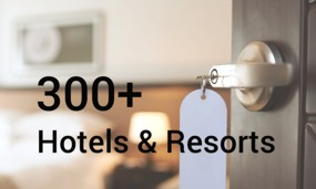 Trusted by over 300 Hotels and Resorts