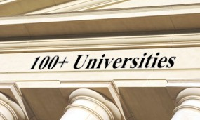 Trusted by over 100 Universities